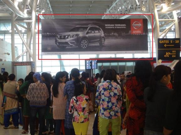 airport advertising, airport advertising agency in india